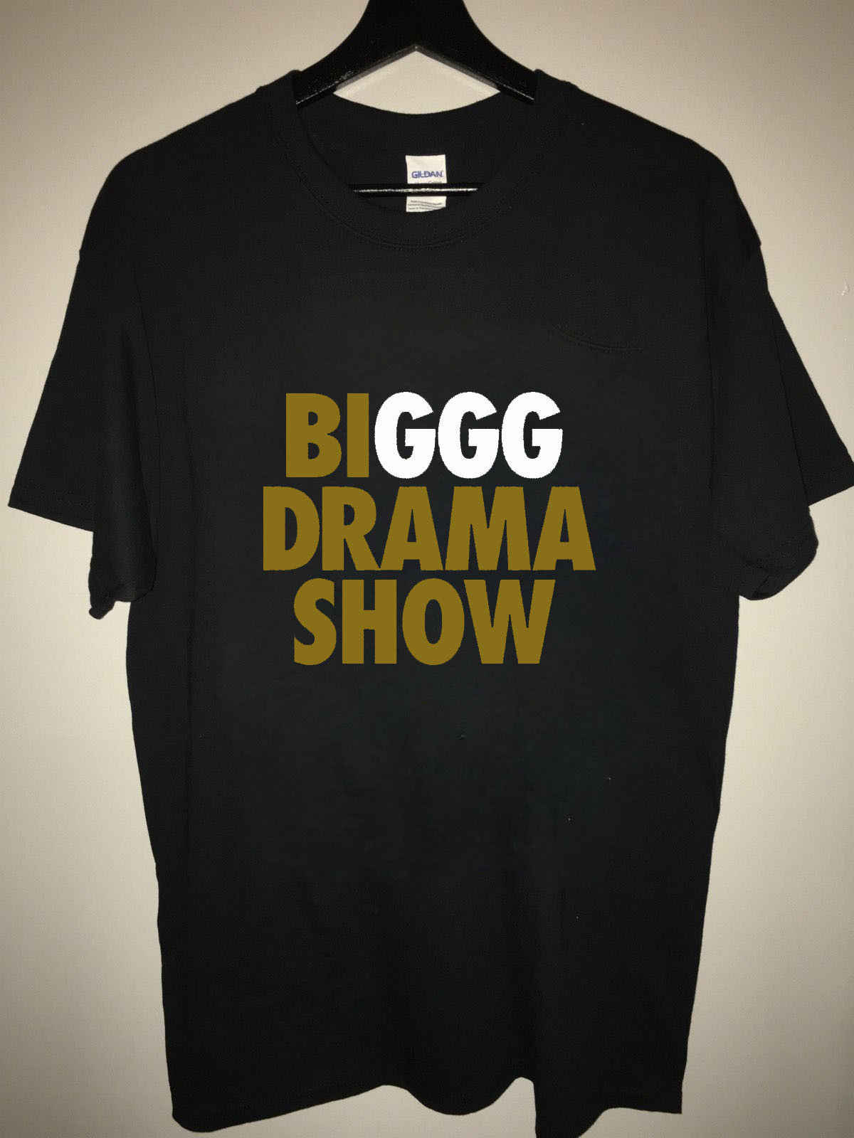 d02272eb815dcf Detail Feedback Questions about Custom GGG Black T shirt BIGGG DRAMA ...