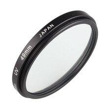 Camera Lens UV Protection Filter 49mm for Canon EF 50mm f/1.8 STM & for Sony E mount 18 55mm f/3.5 5.6 OSS Lens