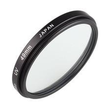 Kamera Objektiv UV Schutz Filter 49mm für Canon EF 50mm f/1,8 STM & für Sony E  montieren 18 55mm f/3,5 5,6 OSS Objektiv