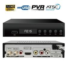 Canada DIGITAL TERRESTRIAL ATSC TV BOX 1080P HDMI Digital Analog CONVERTOR RECEIVER HDTV NTIA Cert Without