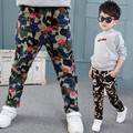 New Boys Unique Camouflage Pants Children Outdoor Military Style Trousers Kids Sporting Comfort Cotton Trousers Wear Resistant