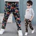 Nuevos Muchachos Pantalones de Los Niños Al Aire Libre Militar de Camuflaje Único Estilo Pantalones Deportivos Para Niños Pantalones de Algodón Resistente Al Desgaste Comodidad