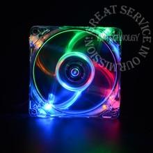 Светодиодными огнями вентилятора корпуса охлаждения со компьютер корпус вентилятор pc см