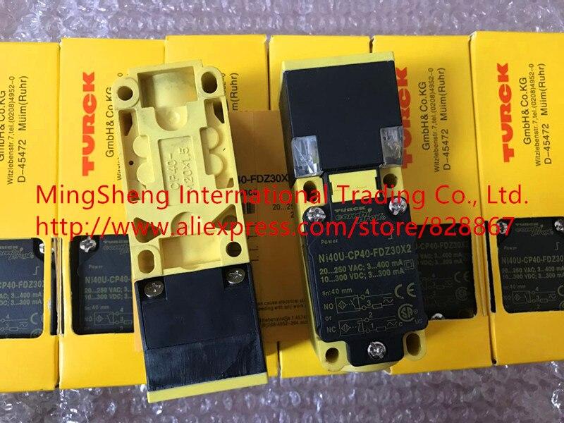 Original nouveau 100% capteur interrupteur Ni40U-CP40-FDZ30X2 250VAC 300VDC 300mA 400mA commutateur de proximité technologie d'importation 1 ans de garantie