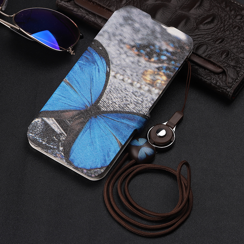 For Vivo Y91 Case Flip PU Leather Soft Silicone Back Cover For Vivo Y91 Y95 VivoY91 VivoY95 Case Protective Wallet Stand Holder leather