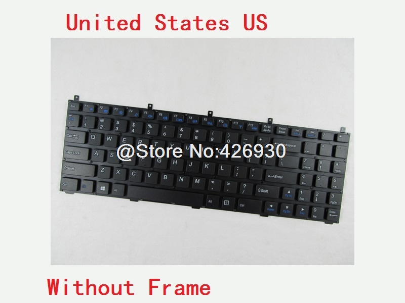 Laptop Keyboard For CLEVO W270HNQ W270HPQ W270HSQ W270HUQ W271CZQ W350HU W350HV W350ST United States US Spain SP Germany GR laptop keyboard for clevo n550rc n550rn n551rc fn