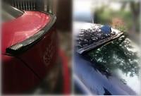 car styling rubber car tail Decorative stickers FOR mazda cx5 vw passat b7 kia sportage 2017 opel zafira audi q7 jetta mk6