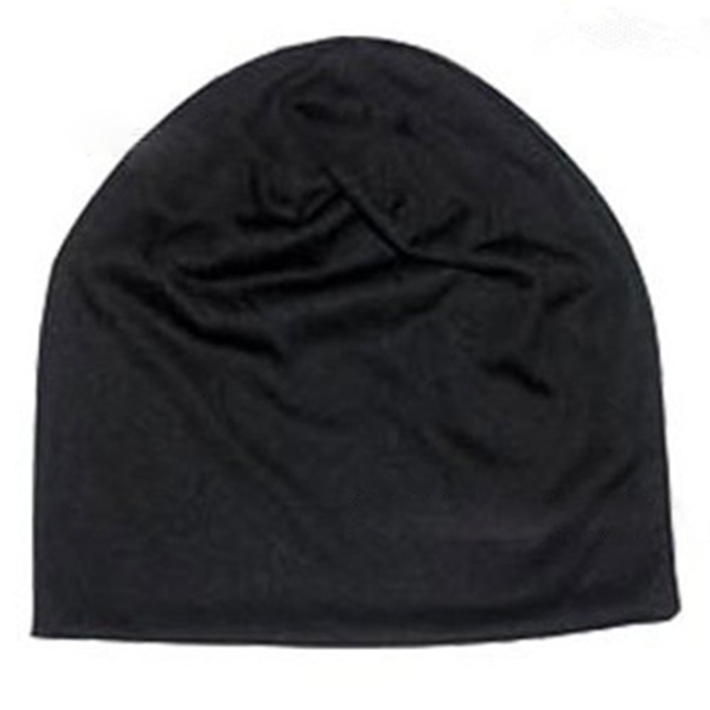 New Unisex Fashion Men Women Pure Color Winter/ Spring/ Summer/ Autumn Knitted Hat Casual None-eaves Hip-Hop Cap