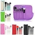 Professional Makeup Brush Set tools Make-up Toiletry Kit Wool Brand Make Up Brush Set Case A2