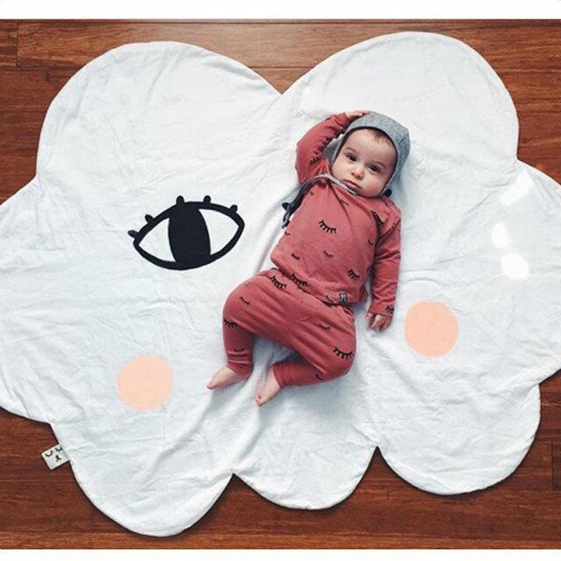 New Baby Cloud Bed Sofa Winter Play Mats Kids Floor Weather INS Toddler Blanket Cover Developing Toy Carpet lapin Cushion Quit lapin house 803798