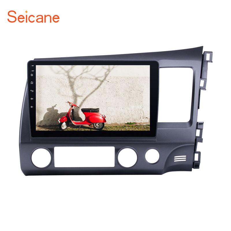 Seicane Android 9 0 10 1 One Din Car Radio Audio GPS Navigation Multimedia Player Head