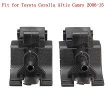 2 шт. пара сопло омывателя ветрового стекла струи спрей подходит для Toyota Corolla Altis Camry 2006-15