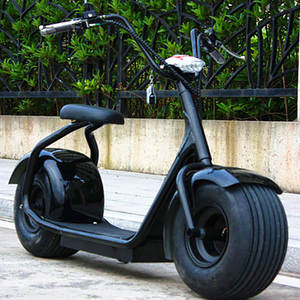 1500W 60V12Ah Lithium Battery Electric Scooter Citycoco with 9 Inches Tire