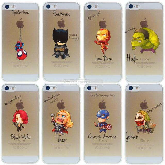 coque iphone 5 avengers
