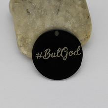Ladyfun Religious Stainless Steel God Charms  #ButGod Charm for jewelry making