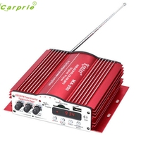 New Arrival 12V Hi Fi Stereo Amplifier Amp Mp3 For IPod Motorcycle And Car