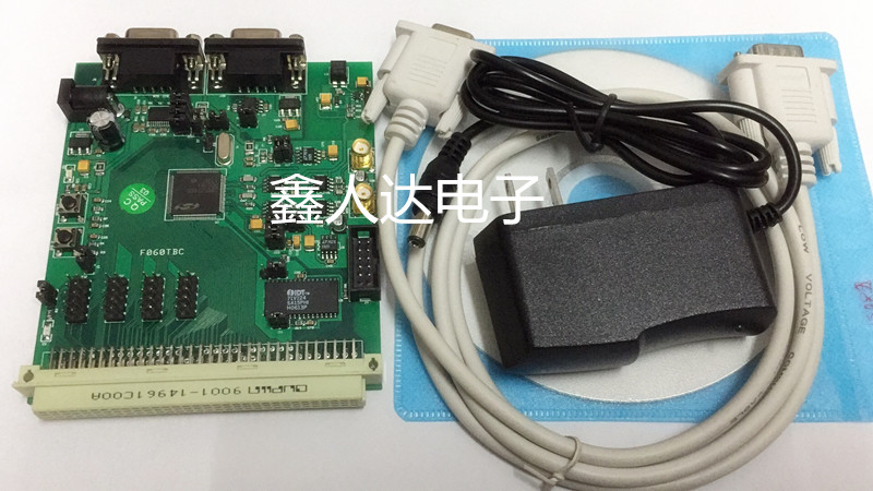 C8051F060TBC development board   C8051F MCU evaluation boardC8051F060TBC development board   C8051F MCU evaluation board