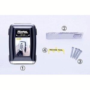 Image 5 - Металлический шкафчик для ключей с кодовым замком, Настенный Шкафчик для ключей с кодовым креплением, Keepr, ящик для хранения для домашней компании, фабричное использование