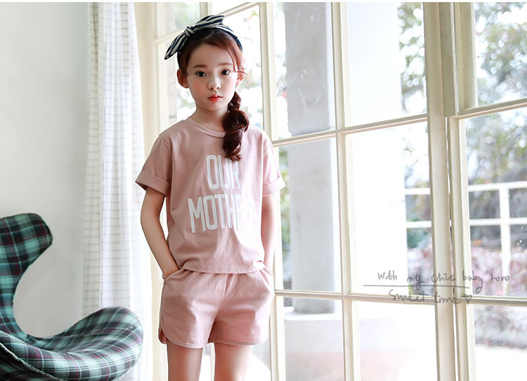 active girls sets 2017 cotton little teenagers kids girls sport suits set girls clothing sets 2017 new summer girls clothes tops shorts 2 pieces set 5 6 7 8 9 10 11 12 13 14 15 16 years old (26)
