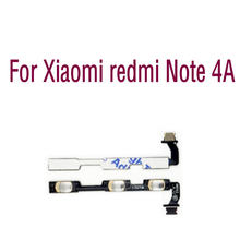 On Off Volume Button Flex Cab High quality Replacement Parts For Xiaomi redmi Note 4A 4 A a 4a(China)