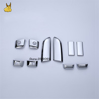 Car Styling ABS Chrome Door Handle Covers Anti Scratch Stickers Guard Protector Trim Fit For TOYOTA