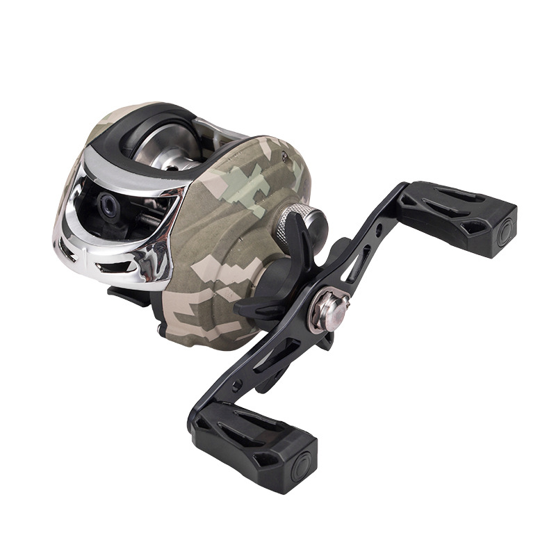 Baitcasting Reel Carbon Fiber baitcasting fishing reel 167g casting High Speed 7.3:1 Bass Fishing