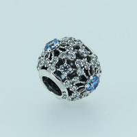 Beads for Jewelry Making Sterling-Silver-Jewelry Cinderella's Wish Bead 925 Berloque Perles Fit Brand Bracelets Charms