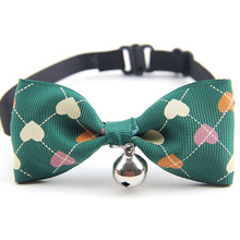 Cute bowknot Pet Dog Collar with Bell