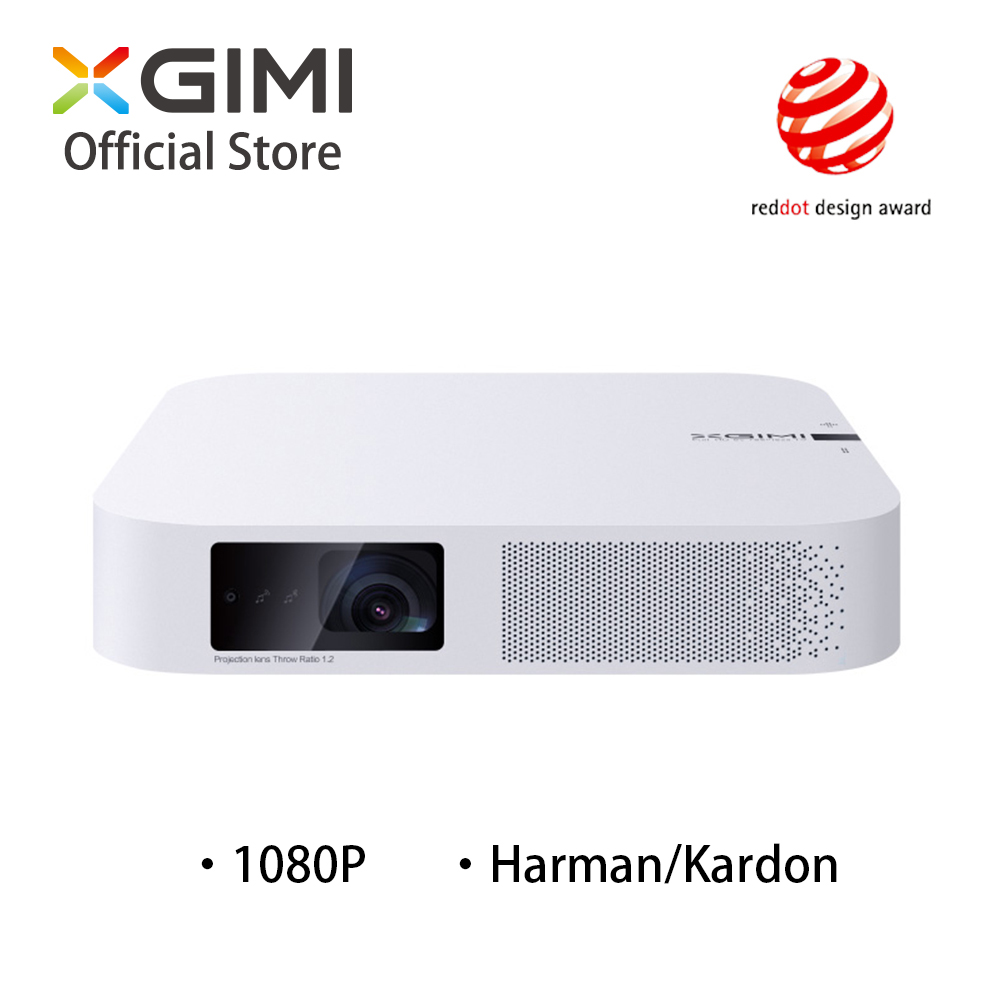 Inteligente Projetor XGIMI Z6 Polar 1080 P Full HD 700 Ansi Lumens DLP LEVOU Mini Projetor Android Bluetooth Wi-fi Inteligente home Theater