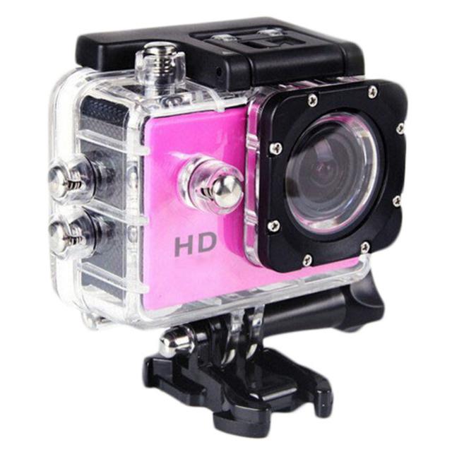 """Venda quente A7 Câmera Ação SJ4000 HD 720 P 2.0 """"LCD Esporte DV 90 Graus Lente Grande Angular 30 M À Prova D' Água Filmadora Mini ação cam"""