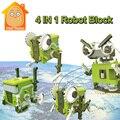 Minitudou 4 EN 1 Electronic Building Blocks Juegos de Mesa Juguetes de Ciencia Y Educación Ladrillo Constructor