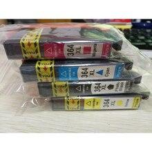 купить Vilaxh For Hp 364 364xl compatible ink cartridge for HP364 5510 5515 6510 B010a B109 B110a B110c B110e B209 B210 c5380 printer по цене 874.71 рублей