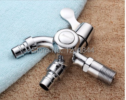 Brass Multi function Cold Tap Washing Machine Bathroom Faucet Handles Decorative Outdoor Faucets Water Tap Wall