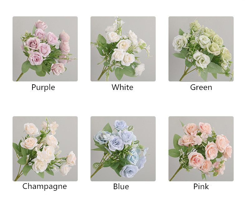 Silk Fake Flower Bouquet Best Children's Lighting & Home Decor Online Store