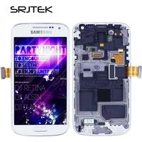 Screen For Samsung Galaxy S4 Mini i9190 LCD Display Touch Digitizer Sensor Glass Assembly With Frame For Galaxy i9195 i9192