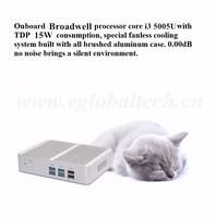 Cheapest Intel Core i3 6100U i3 5005U Mini PC Windows 10 Barebone Computer DDR4 2GHz 520/5500 Graphics 4K HTPC minipc HDMI VGA