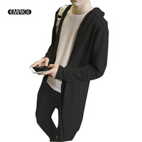 2016 New Spring Men Fashion Sweatshirt Male Hooded Sports Cardigan Suit Young Students Casual Jacket Men