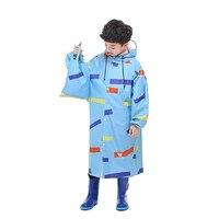 Waterproof Children Rain Coat Poncho Waterproof Cover Raincoat kids raincoat Cape Gear Capa De Chuva Feminina Rain Jackets 5R12