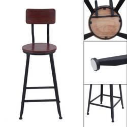 Высокое качество прочный кухня обеденный стул крепкий паб высокое бартабурет удобные Современный барный стул промышленных стиль мебель