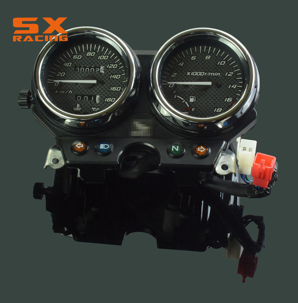 Motorcycle Speedometer Gauge Meter Tachometer Gauges For HONDA CB250F CBF250 Hornet 250 Hornet250 2000-2005 for honda cb400 2005 2016 cb600f hornet 1998 2000 cb750 2007 motorcycle windshield windscreen pare brise black