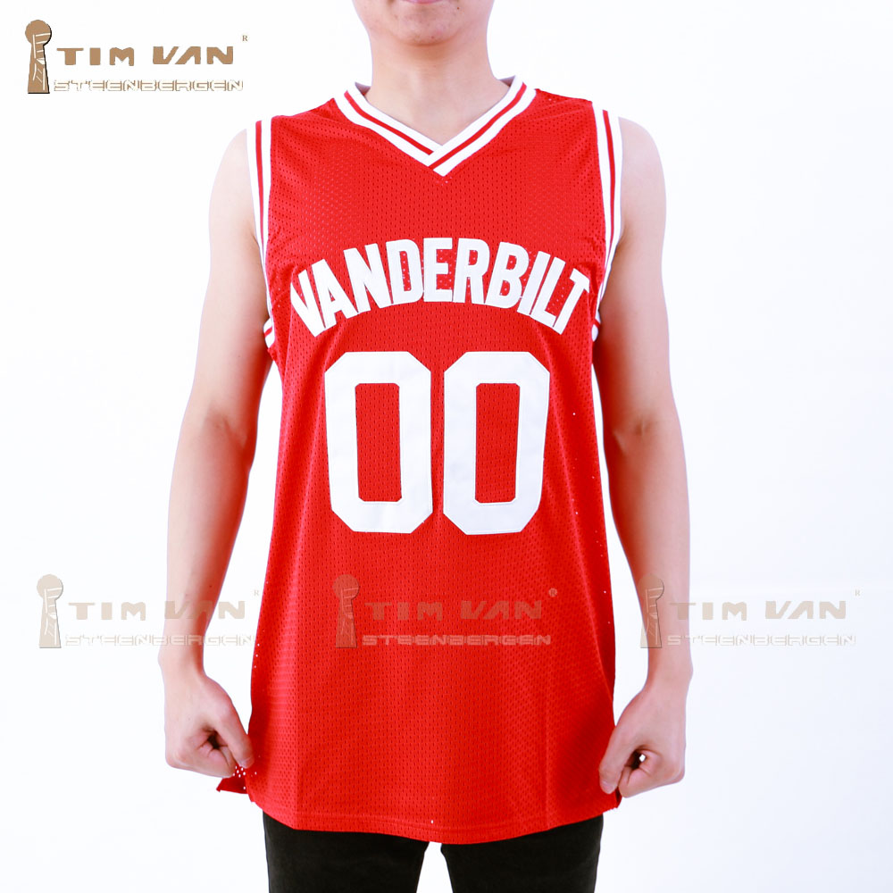 TIM VAN STEENBERGEB Familie Angelegenheiten Steve Urkel 00 Vanderbilt  Muskrats High School Basketball Jersey Genäht Genäht 80f41c8fe