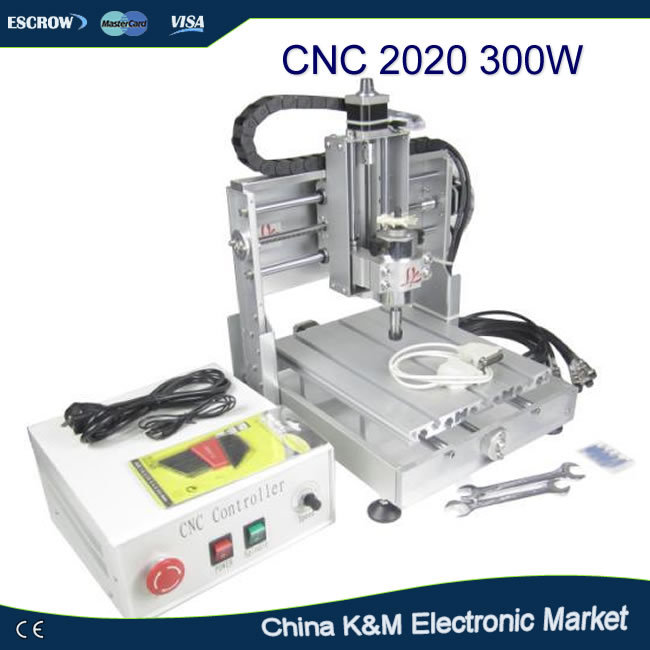 Russian tax-free CNC 2020 router engraving machine engraver cutting tool with 300W spindle free tax to eu high quality cnc router frame 3020t with trapezoidal screw for cnc engraver machine