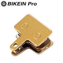 цена на BIKEIN 1 Piars Bike Metallic Disc Brake Pads For SHIMANO M355/M375/M395/M416/M445/M446/M485/M486/M515/M525 Tektro Orion/Auriga