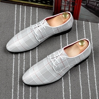 CuddlyIIPanda 2019 Office Men's Dress Suit Shoes Luxurious Style Wedding Casual Shoes Male Breathable Derby Shoes Zapatos Hombre