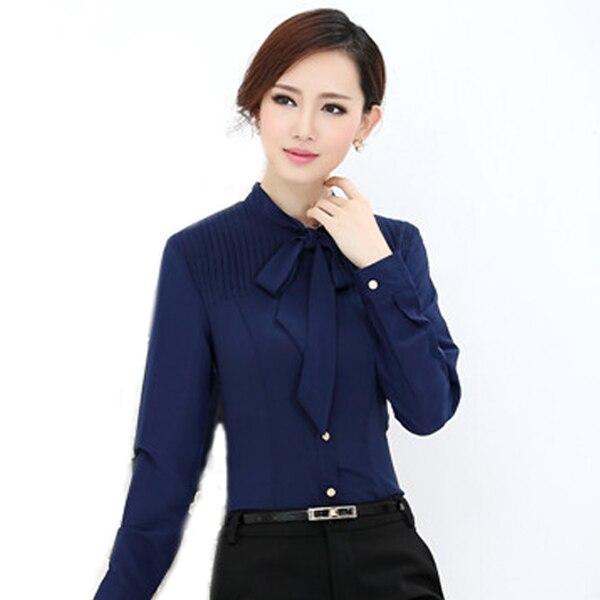 Camisa de las mujeres blusa blanca de moda femenina blusas
