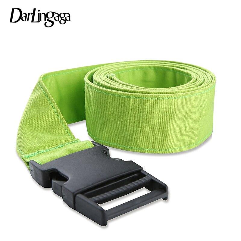 Darlingaga Harajuku Cotton Neon Green Women Belt 120cm Unisex Waist Belt Cummerbunds Fashion 2019 Adjustable Ladies Belts Summer