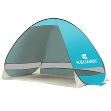 Summer Outdoor 2 Person Camping Tent UV Protection Sun Shade Shelter Automatic Pop Up Fishing Picnic Beach Tent Cabana