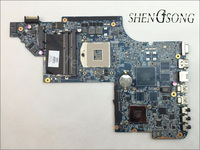 641485 001 Free Shipping For HP Pavilion DV6 Motherboard DV6 6000 HM65 DDR3 Socket PGA989 Laptop