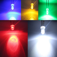 100pcs 3mm LED Light White Yellow Red Green Blue Assorted Kit DIY LEDs Set Free Shipping Big sale for new store