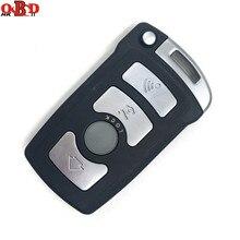 HKOBDII clé télécommande complète pour voiture BM7, puce 7945, pour BMW série 7 730/740(E65/E66), système antivol CAS1/CAS2, 315/433/868MHZ